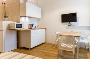 eLoftHOTEL double room with a mini-kitchen